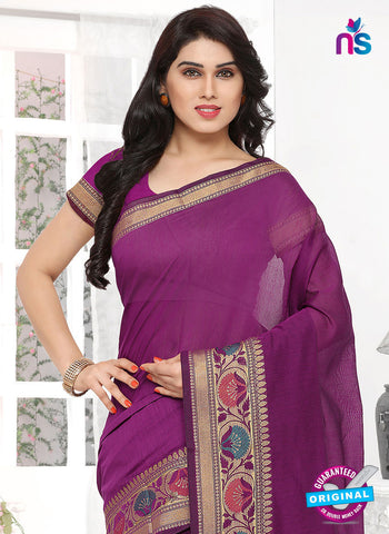 RT 19740 Purple Formal Saree