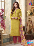 Sahiba 004 Yellow and Pink Camric Suit