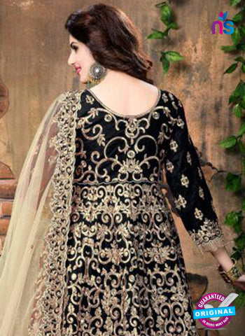 Annaya 20001 Black Anarkali Suit