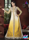AZ 1055 Yellow and White Net Georgette Party Wear Suit