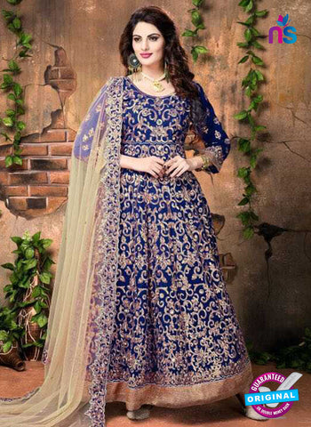 Annaya 20003 Blue Anarkali Suit