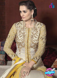 AZ 1055 Yellow and White Net Georgette Party Wear Suit - Salwar Suits - NEW SHOP