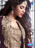 Maskeen 20004 Purple and Beige Velvet Fancy Pakistani Suit Online