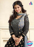vivek  Black Color Georgette Long Designer Suit online