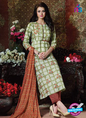 Rose 2003 Green Formal Cotton Suit