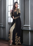 Maskeen 2005 Black Color Georgette Designer Suit