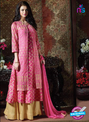 Rose 2006 Pink Indo Western Suit