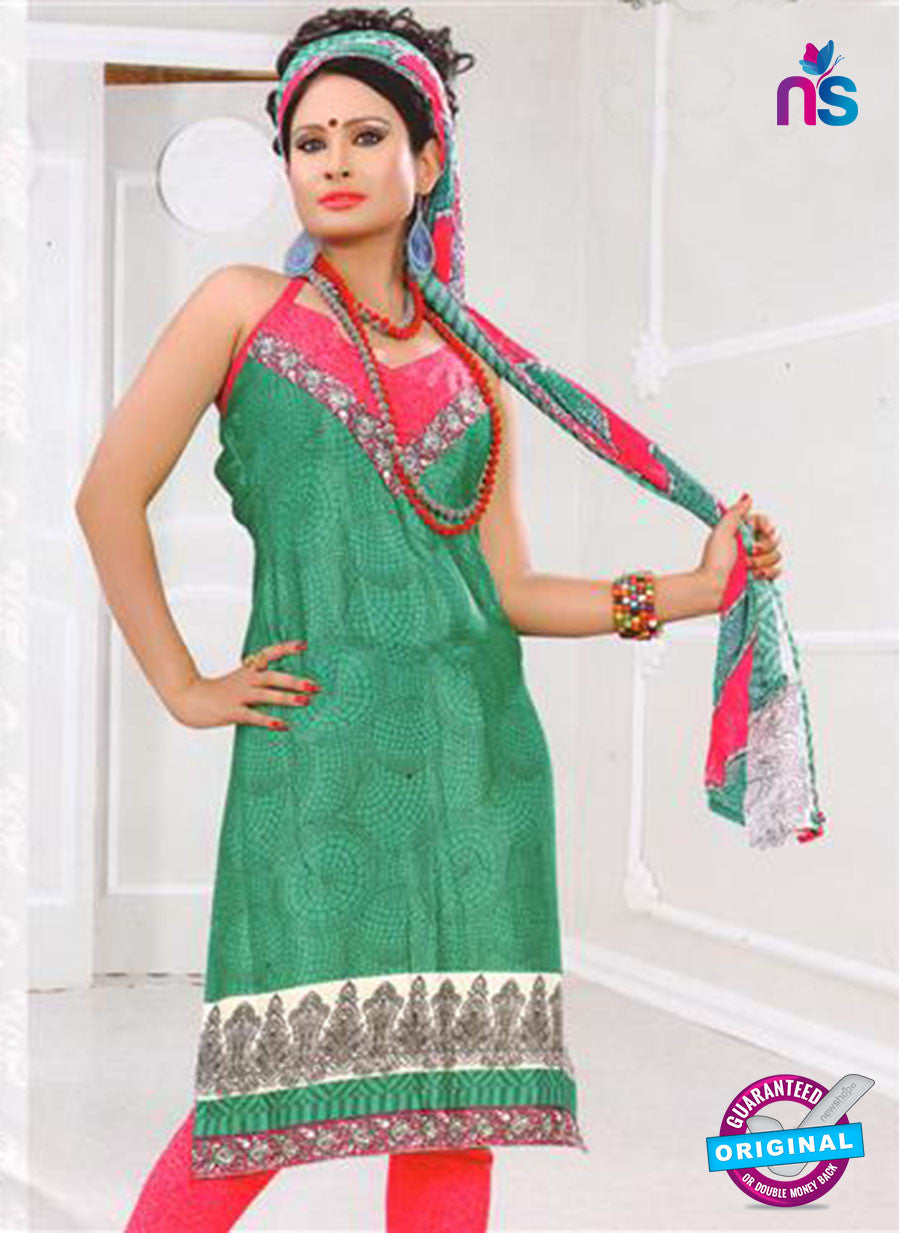 NS12031 Green and Pink Suit