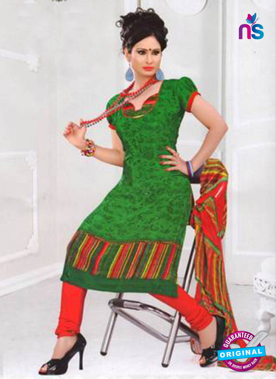 NS12036 Green and Red Suit
