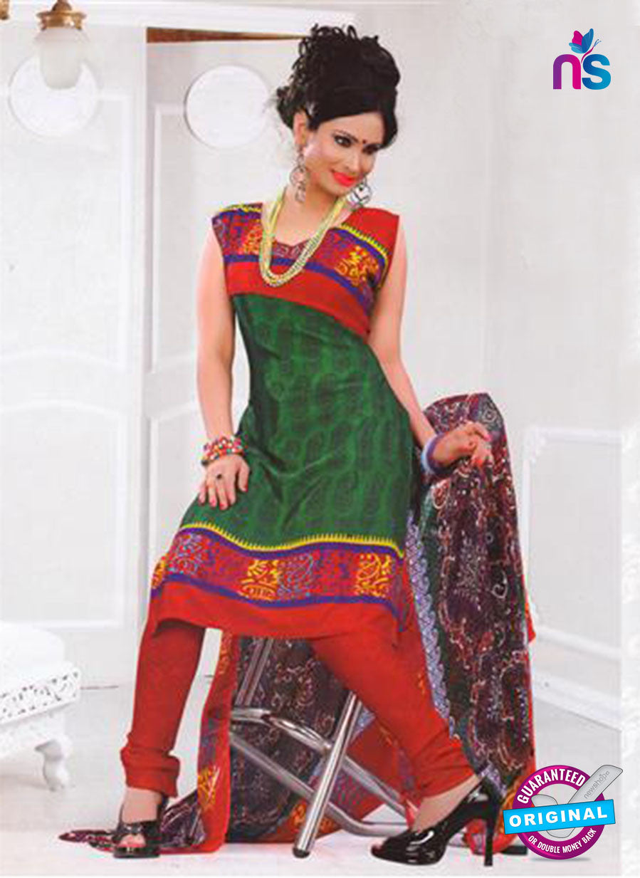NS12037 Green and Red Suit