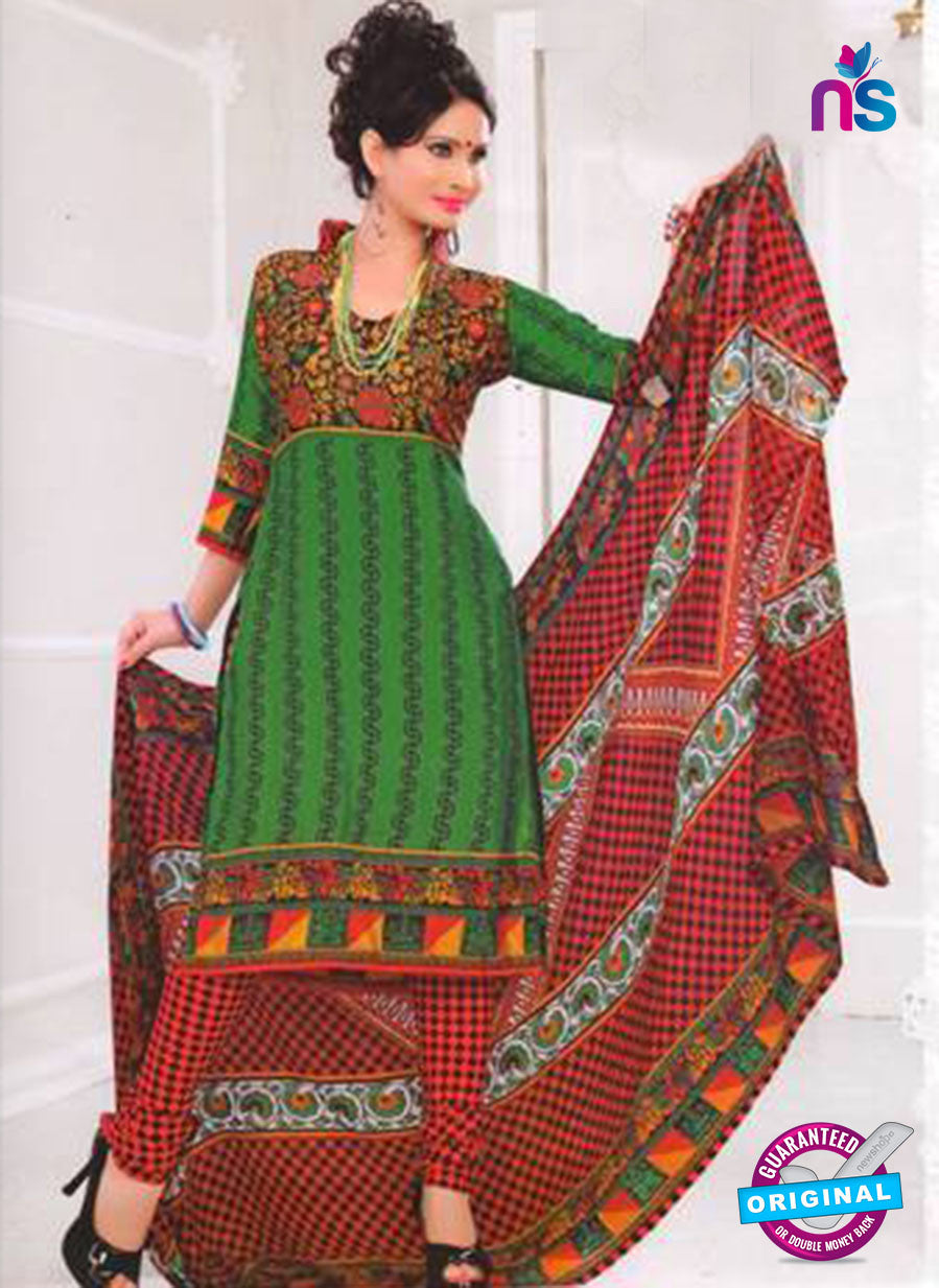 NS12042 Green and Red Suit
