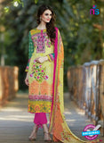 SC 13598 Yellow and Magenta Designer Fancy Exclusive Un-stitched Straight Suit
