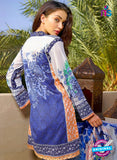 SC 12830 Blue, Green and Orange Camric Cotton Printed Pakistani Suit