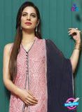Asim Jofa 2024 Pink Semi Georgette Party Wear Suit Online
