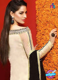 Asim Jofa 2026 Beige Semi Georgette Party Wear Suit Online