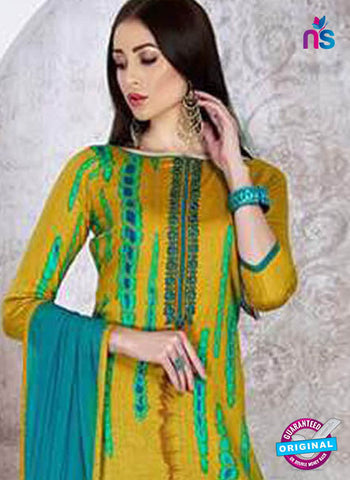 Sadaa 203 Yellow Formal Suit