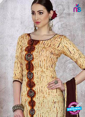Sadaa 204 Beige Formal Suit