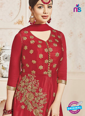 AZ 6174 Red Indo Western Suit