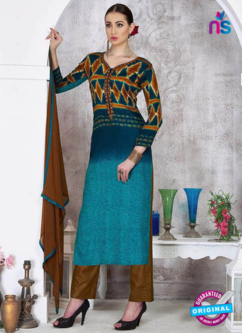 Sadaa 205 Sea Green Formal Suit