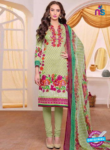 Kaheera 209 Green Pakistani Suit