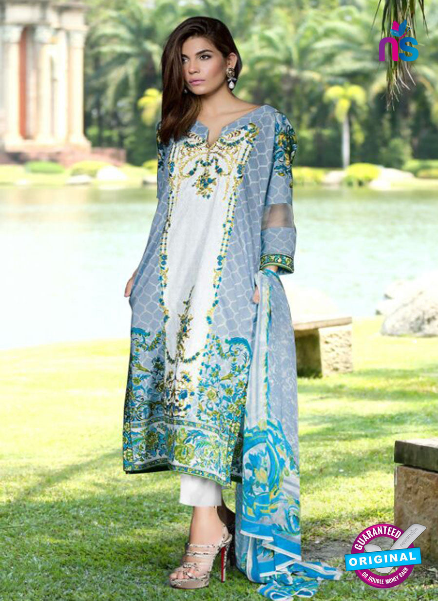 SC 13805 Grey Lawn Designer Fancy Traditional Plazo Suit