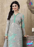 SC 12266 Grey and  Sea Green Embroidered Pure Lawn Cotton Suit Online