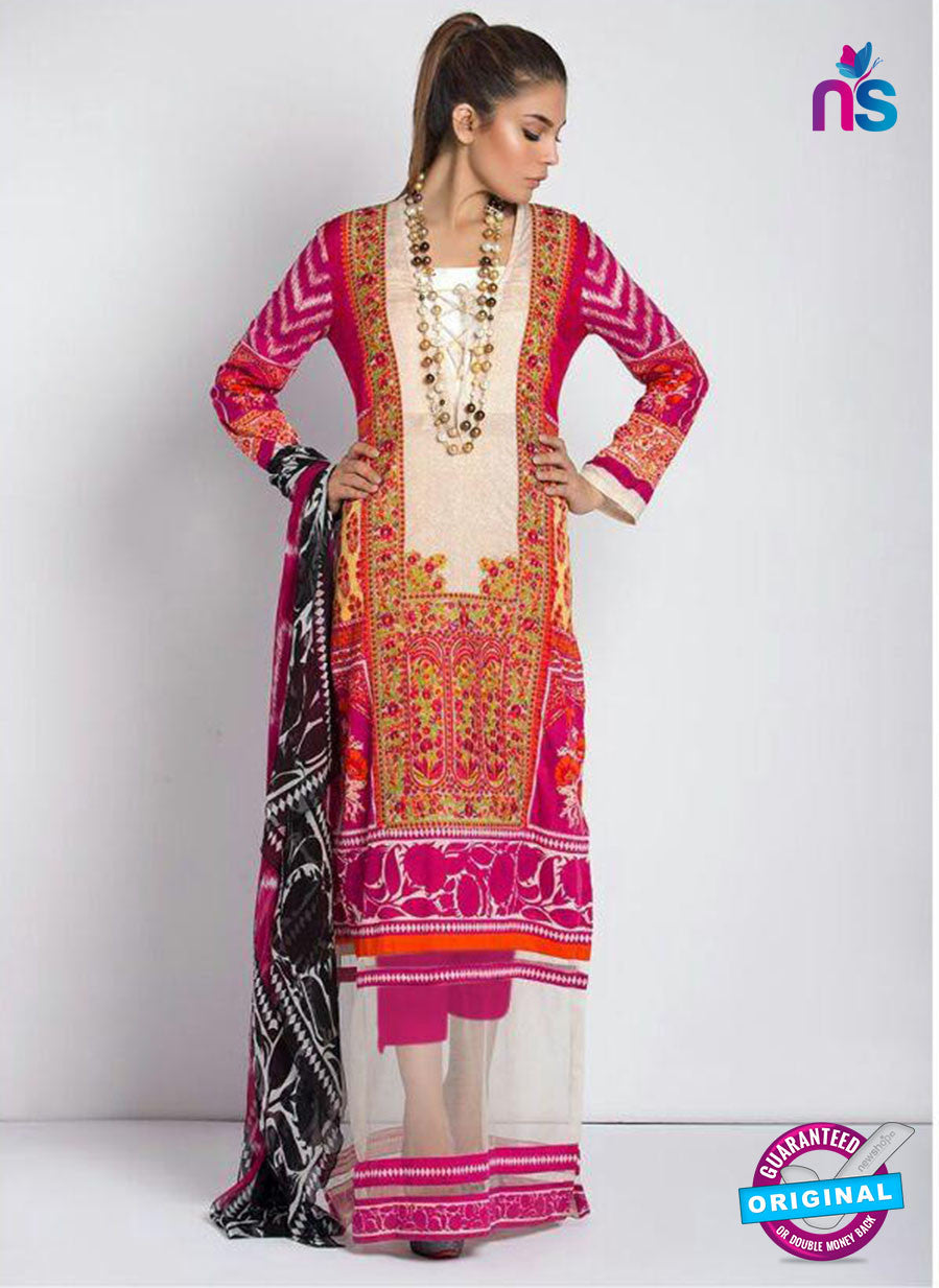 SC 13812 Pink Designer Fancy Traditional Cotton Satin Suit