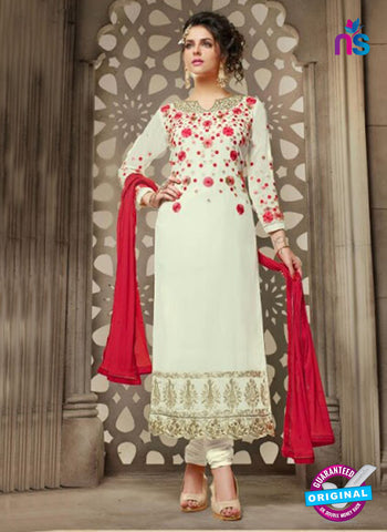 Mehak 21004 White Georgette Party Wear Suit
