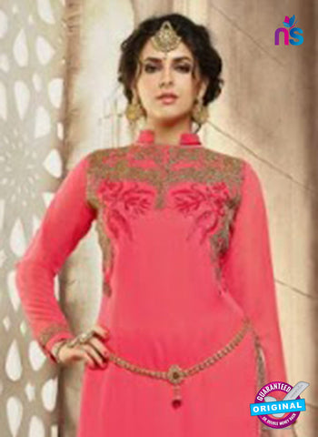 Mehak 21005 Peach Georgette Party Wear Suit Online