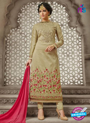 Mehak 21008 Beige Georgette Party Wear Suit