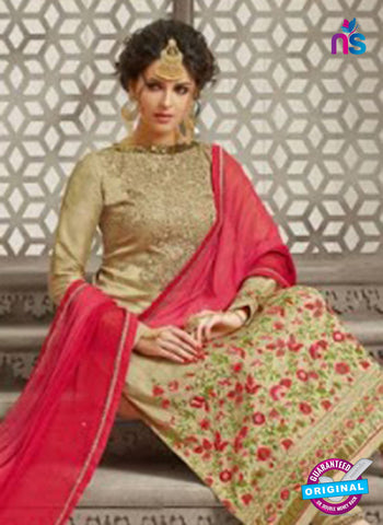 Mehak 21008 Beige Georgette Party Wear Suit Online