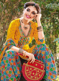 Kalakirti 2102 Yellow Color Glace Cotton Designer Suit