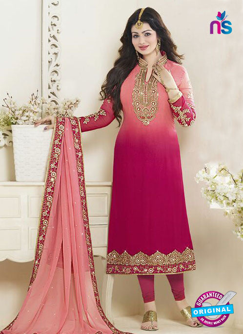 Fiona 21059 Pink Faux Georgette Latest Occasion Wear Designer Straight Suit