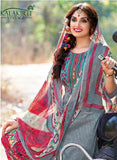 Kalakirti 2107 Grey Color Glace Cotton Designer Suit