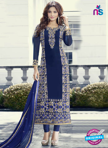 Fiona 21106 Blue Party Wear Suit