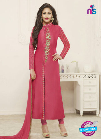 Fiona 21133 Pink Party Wear Suit