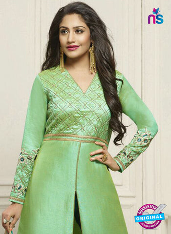 Fiona 21135 Green Party Wear Suit