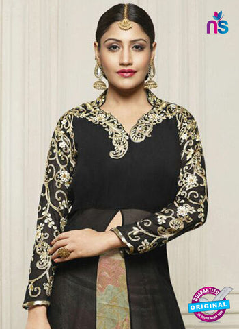 Fiona 21137 Black Indo Wesern Suit