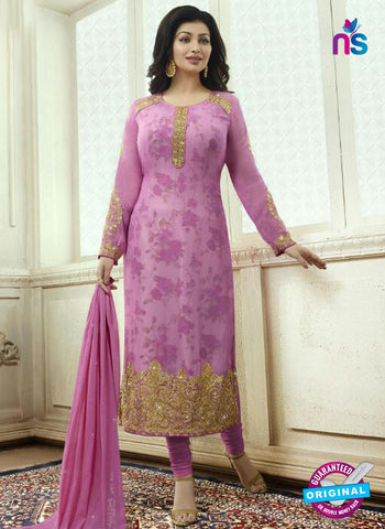 Fiona 21173 Purple Party Wear Suit