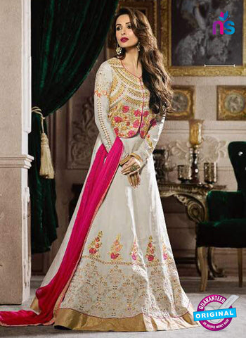Fiona 21195 White Anarkali Suit