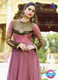 NS10881 A Pink Georgette Anarkali Suit