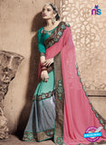 SC 13788 Sea Green Exclusive Ethnic Wedding Wear Georgette Saree