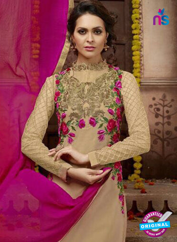 Mehak 22001 Beige Party Wear Suit