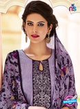 Teazle 2201 Purple and Black Kota Doria Party Wear Suit