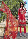 Kalakirti2204 Red Color Glace Cotton Designer Suit