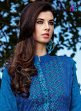 Kalakirti2205 Blue Color Glace Cotton Designer Suit