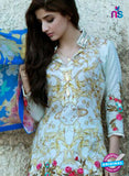 SC 12272 Sea Green and Multicolor Printed Lawn Cotton with Heavy Work Pakistani Suit