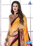 NS 12395 Multicolor Silk Crape Party Wear/Casual Wear Saree