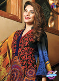 SC 13684 Blue Glace Soft Cotton Designer Fancy Exclusive Pakistani Salwar Suit Online