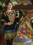 SC 13686 Black Glace Soft Cotton Designer Fancy Exclusive Pakistani Salwar Suit